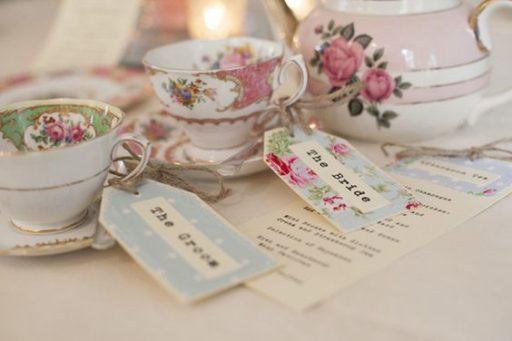 British vintage Wedding Style