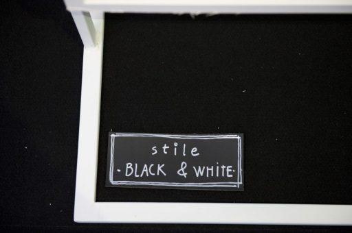 Scenografia Black and White