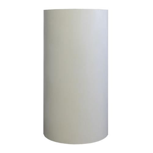 colonna-tonda-legno-bianco