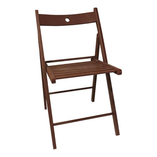 sedia-pieghevole-marrone