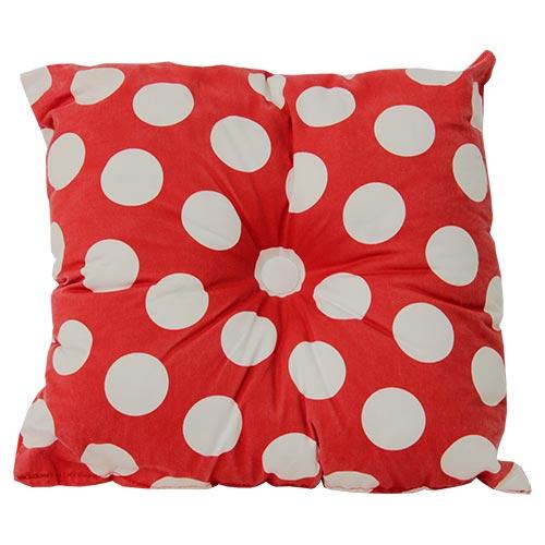 cuscino-cotone-rosso-pois-bianchi-con-bottone