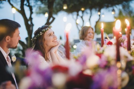 New Romantichic style Wedding