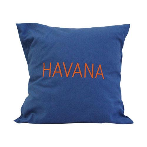 CUSCINO BLU HAVANA