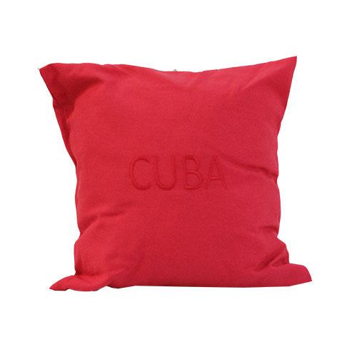 CUSCINO ROSSO CUBA