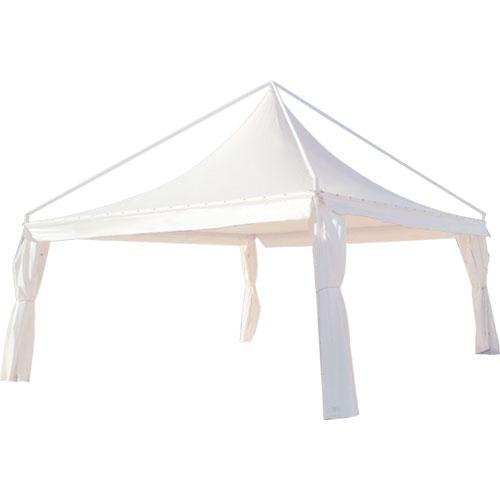 GAZEBO PVC BIANCO