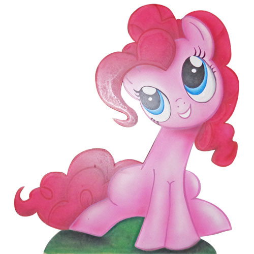 SAGOMA LEGNO LITTLE PONY - PINKIE PIE