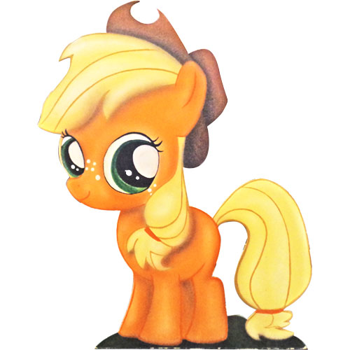 SAGOMA LEGNO LITTLE PONY - APPLEJACK -