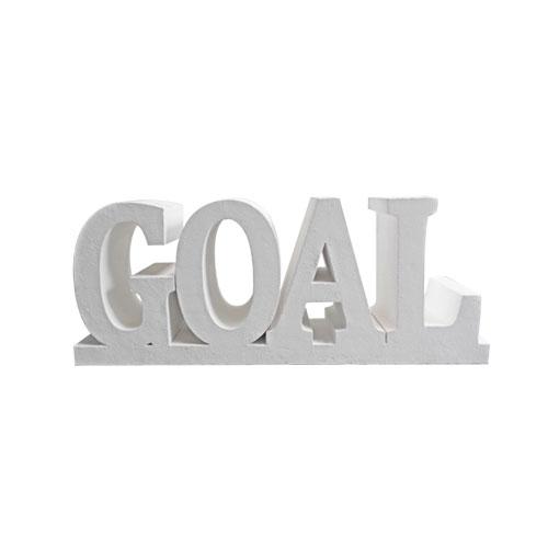scritta goal