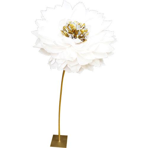 fiore ferro e carta h 180