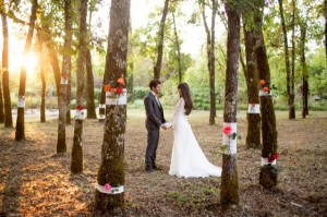 eco-chic-wedding-ceremony